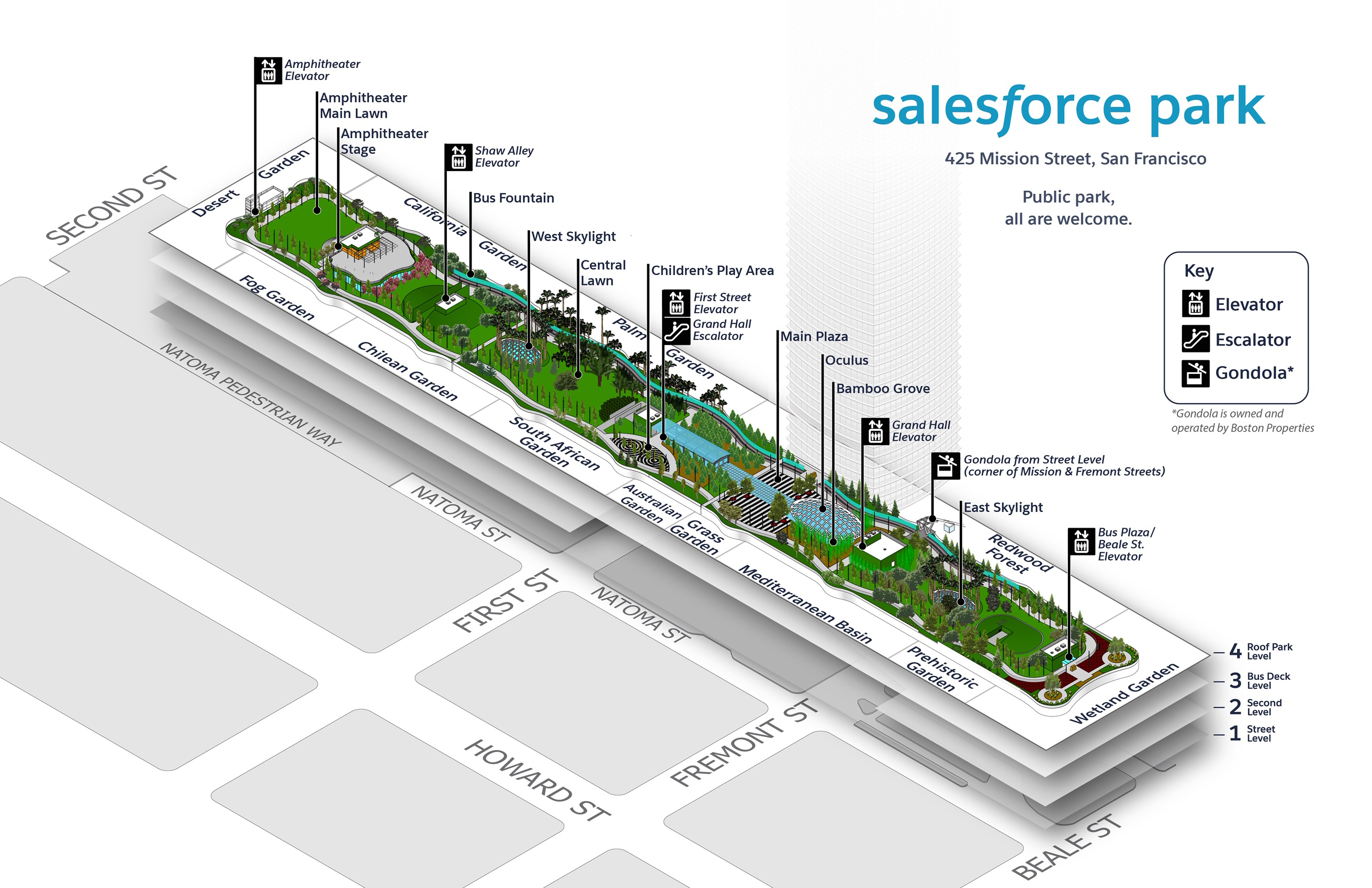 Salesforce Transit Center Map - Salesforce Transit Center